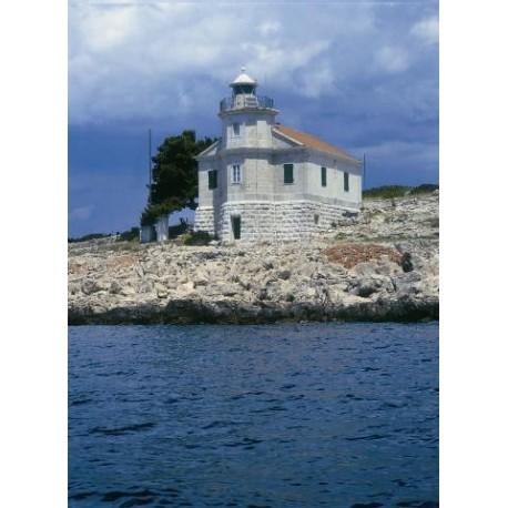 Latarnia morska Prisnjak - Wyspa Murter